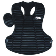 """TAG Pro Style 15 3/4"""" Chest Protector - BLACK"""