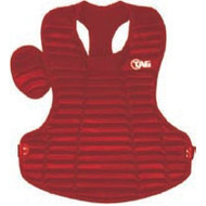 """TAG Pro Style 15 3/4"""" Chest Protector - RED"""