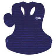 """TAG Pro Style 15 3/4"""" Chest Protector - ROYAL"""