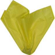 YELLOW Centre Weighted Officials Flag