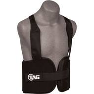 TAG Foam Rib Pads with velcro front and shoulder straps