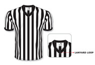 "Athletic Knit Referee Jersey with 1"" Stripes"