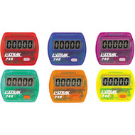 Step counters - set of 6 colours