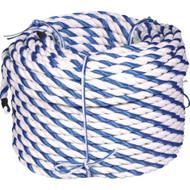 "¾"" Blue & White Rope per 300 ft"