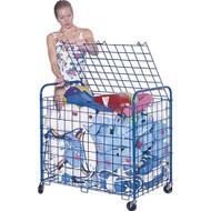 Deluxe Powder Coated Steel Equipment Cart