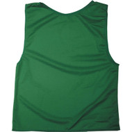 Adult Polymesh Scrimmage Vests - Kelly Green