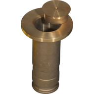 "2 3/8"" brass floor sockets"