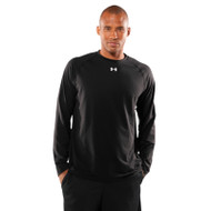 Under Armour Mens Tech T-Shirt Long Sleeve - Black