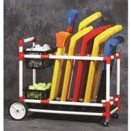 DuraCart  All Terrain Hockey & Broomball Cart
