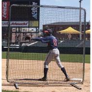 Baseball infielder's screen. 7'x7'