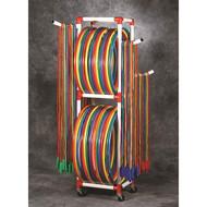 DuraCart Jump Rope & Hoop Cart