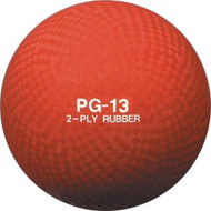 Playground ball rubber 13""