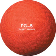 Playground ball rubber 5""