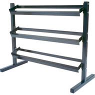 """48"""" 3 tier heavy duty steel dumbell rack"""