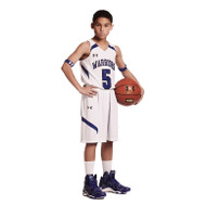 UA Stock Clutch Reversible Jersey - Youth Men's