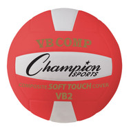Official Size Composite Volleyball - Red