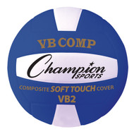 Official Size Composite Volleyball - Blue
