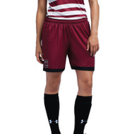 Under Armour Women's Armourfuse Soccer Short - Intercept