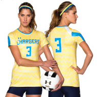 Under Armour Armourfuse Youth Short Sleeve Volleyball Jersey - Game Point