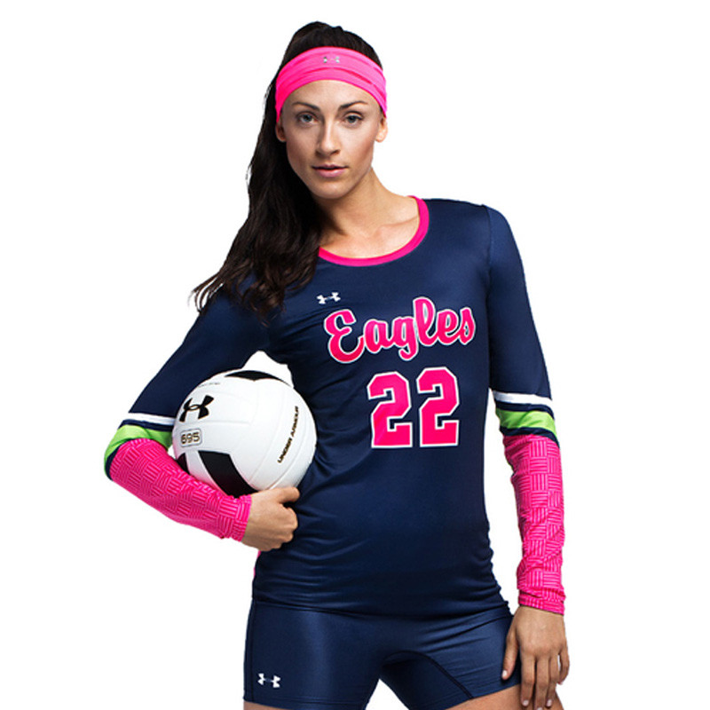 58a70bf863c Buy Armourfuse Women s Long Sleeve Volleyball Jersey Online ...