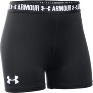 Under Armour Girls Heatgear Armour 3'' Shorty