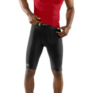 Under Armour Mens HeatGear Compression 10 Inch Shorts - Black