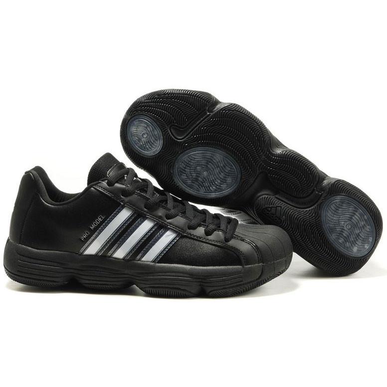 041366f533a Buy Adidas Black Pro Model 06 Men s Team Basketball Shoe Online ...
