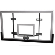 Glass Conversion Backboard Kit (includes Backboard/Breakaway Goal/Padding)