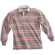 Barbarian Niagara Design Unisex Zip Hoodie  - Grey/White/Pink
