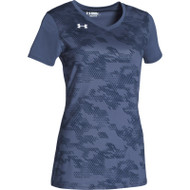 Under Armour Women's Ultimate Spike Printed Short Sleeve Jersey (UA-1294527)