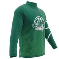 AthElite Boys Short Sleeve Universal QZ Pullovers Basketball Shooting Shirt (Core) (AE-AW-ACS-223Y)
