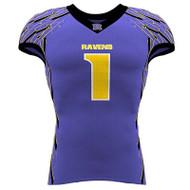 AthElite Boys Warrior Cap Sleeve Football Jersey (AE-AFB-JSY-112)