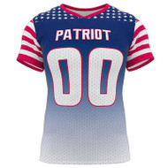 AthElite Mens Patriot Flag Football Jersey (AE-AFB-JS-131)