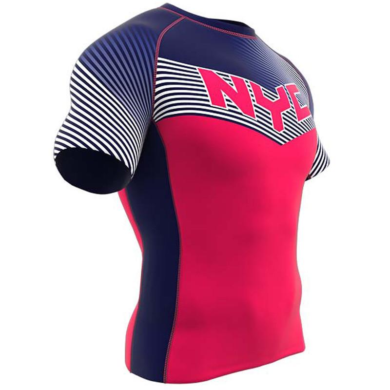 a8edc0bd8 AthElite Mens Short Sleeve Compression Shirts- Sublimated Uniforms -  Apparel   Marchants.com