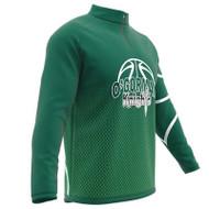 AthElite Mens Long Sleeve Universal QZ Pullovers (Interlock) (AE-AW-ACS-119)