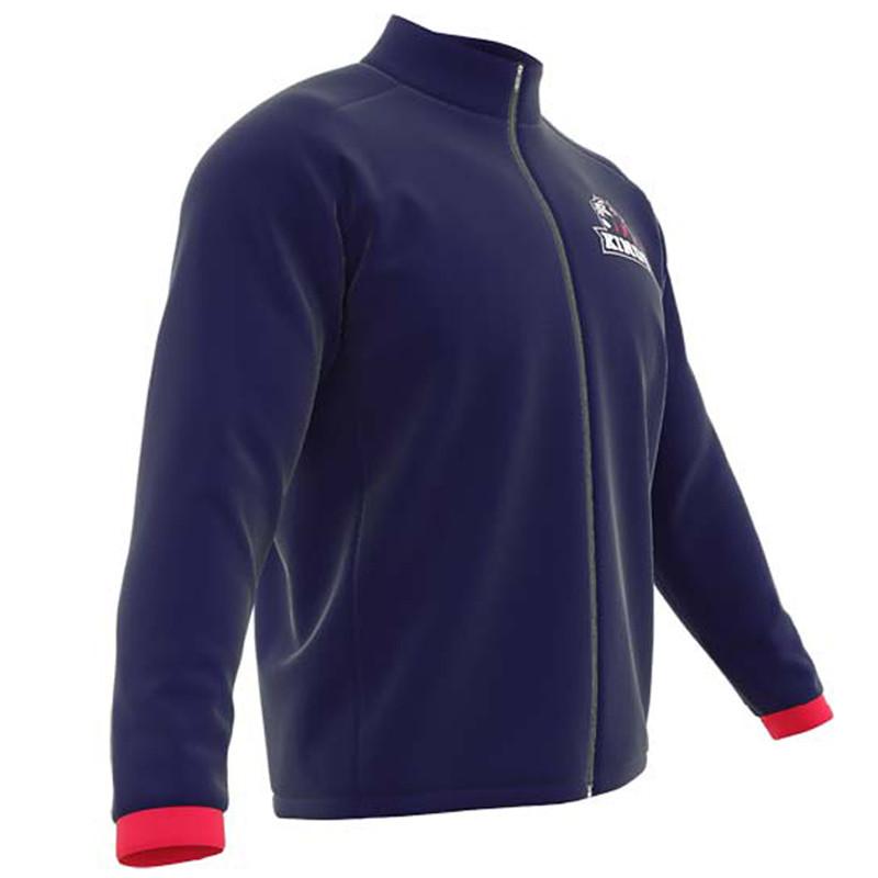 AthElite Womens Universal Knit Warm Up Jacket (Core fabric ... 2413d61dcf
