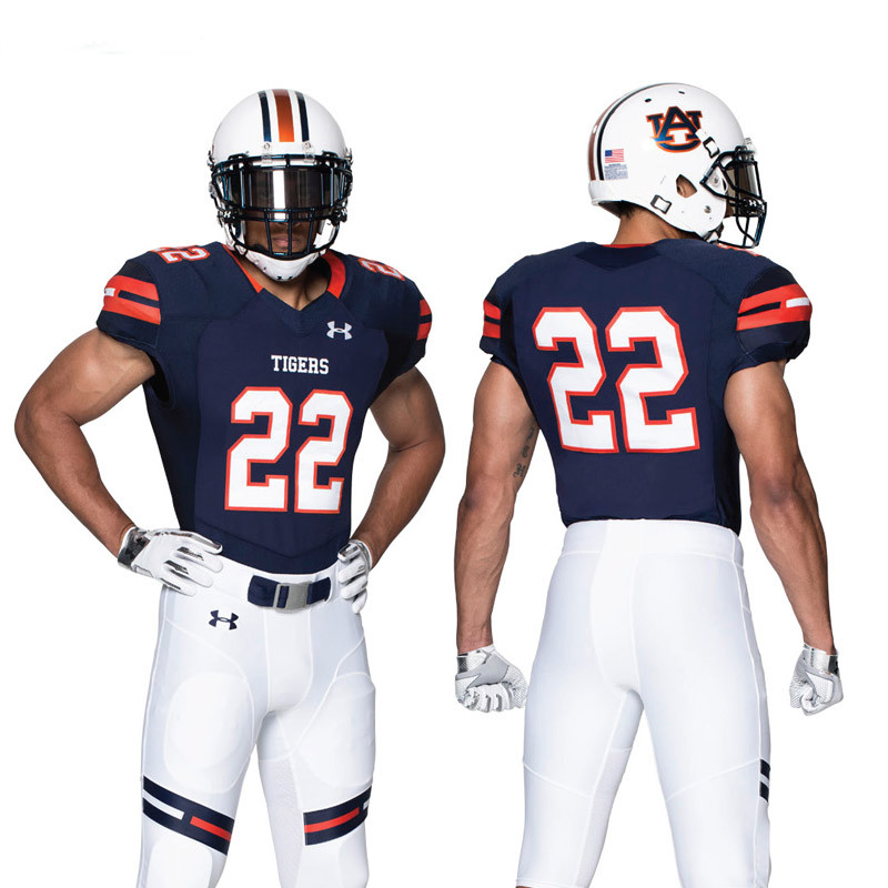 33d7d1368 Under Armour Men s Gameday Select Highlight Armourgrid Jersey - Grid Stripe  - Custom Football Game Jerseys - Football Uniforms