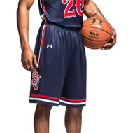 Under Armour Men's Armourfuse Showtime Basketball Short-Storm