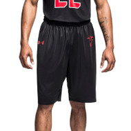 Under Armour Men's Armourfuse Gametime Basketball Short-Hoover