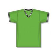 Athletic knit Dryflex Knit V-Neck Sleeve Trim Volleyball jersey