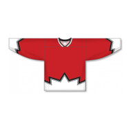 AK-Knit Polyester Hockey Jersey, Dbl Shoulder/Elbow - Youth D3