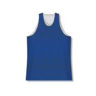 Athletic Knit Polymesh Traditional Cut Reversible Basketball Jersey