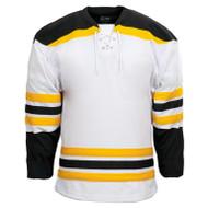 Kobe Boston–K3G Knit Youth Home Hockey Jersey - K3G04YH (KO-K3G04YH)