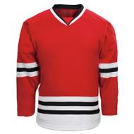 Kobe Chicago–K3G Knit Youth Away Hockey Jersey - K3G06YA (KO-K3G06YA)