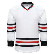 Kobe Chicago–K3G Knit Youth Home Hockey Jersey - K3G06YH (KO-K3G06YH)