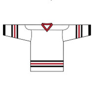 Kobe Chicago Regular Home Hockey Jersey - 6106YH (KO-6106YH)
