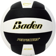 Black & White Baden's Perfection Leather Volleyball