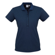Biz Collection Women's Shadow Polo (FB-P501LS)