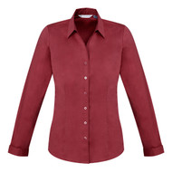 Biz Collection Women's Monaco Long Sleeve Shirt (FB-S770LL)