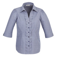 Biz Collection Women's Edge ¾ Sleeve Shirt (FB-S267LT)